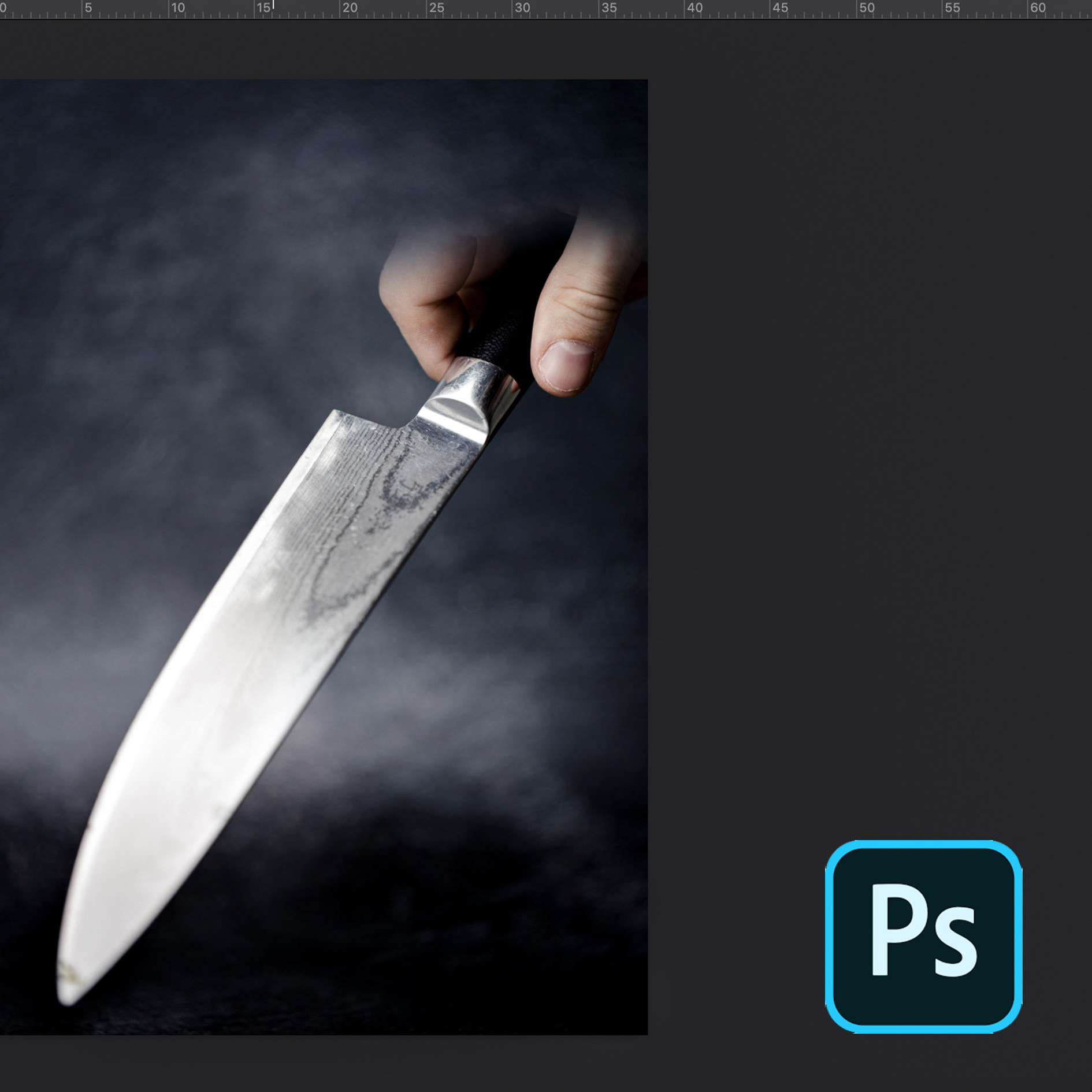 How to make floating object by using photoshop